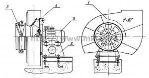 Вентилятор дутьевой ВДН 8