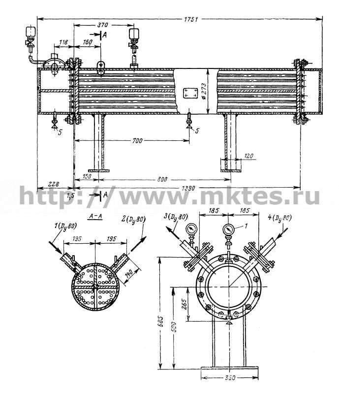 Теплообменник водоводяной производительность 40 т ч теплообменники 1600 мм диаметр каталог