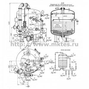 Фильтр смешанного действия (ФСД) диаметром 2600 мм с выносной регенерацией
