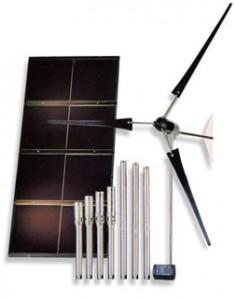 Система скважинного водоснабжения с альтернативными источниками энергии (солнечные батареи, ветрогенераторы) Grundfos SQFlex