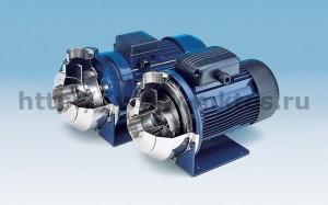 Насосы, сочетающие преимущества открытого рабочего колеса и исполнения конструкций из нержавеющей стали AISI 316, что позволяет