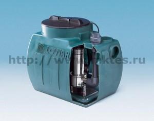 Установки для откачивания бытовых сточных вод, которые не могут быть направлены в канализационный коллектор самотеком
