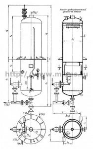 Сепараторы непрерывной продувки СП-1,5