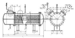 Теплообменник водоводяной 80_240 т/ч