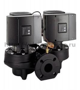 Одноступенчатые центробежные насосы с частотно-регулируемым электродвигателем (оснащены датчиком перепада давления) Grundfos TPE